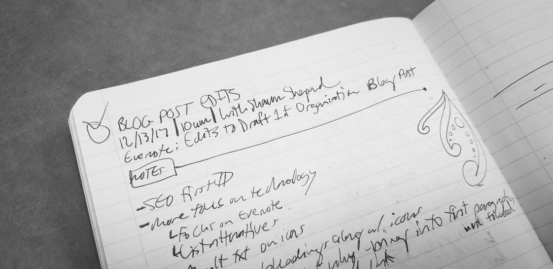 note-taking strategies: paper